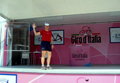 CycleItalia's Heather on Giro stage